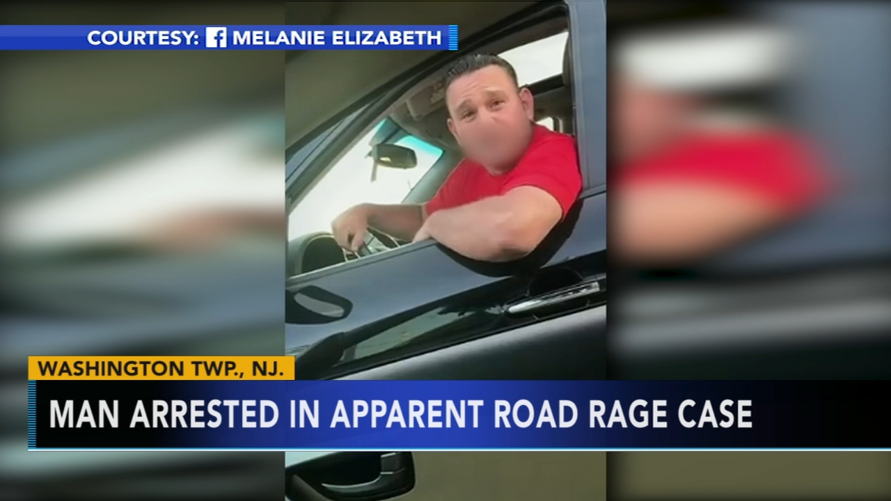 Sewell, New Jersey man arrested in apparent road rage incident. Nydia Han reports during Action News at 6 a.m. on August 19, 2018.