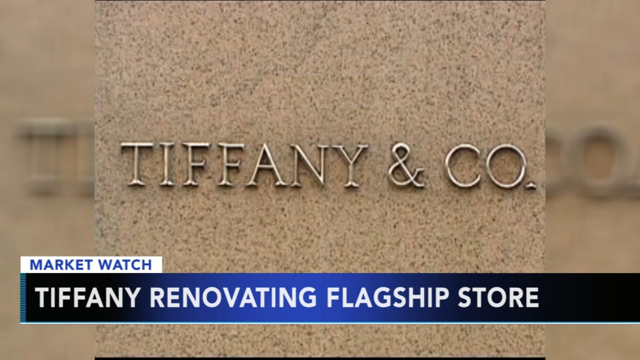 Tiffanys flagship store to undergo renovations. Gray Hall reports during Action News at 9 a.m. on August 19, 2018.