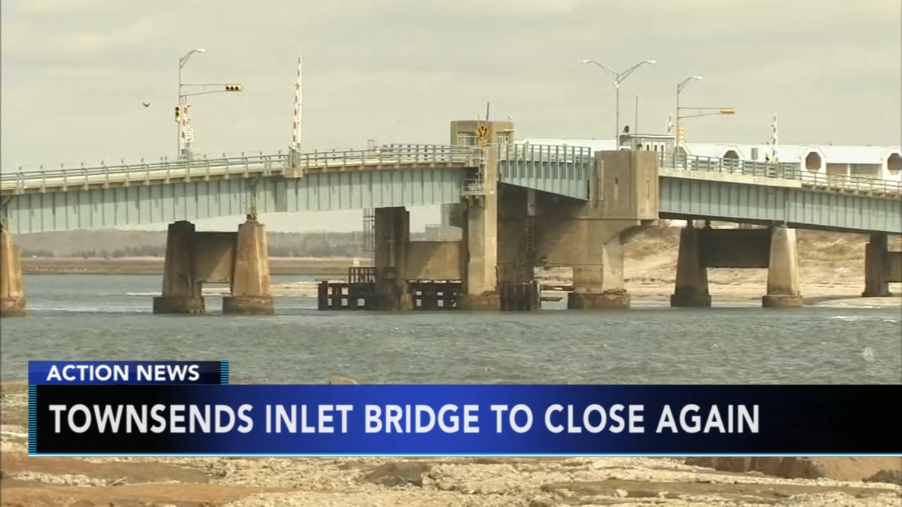 Bridge linking New Jersey shore towns to close for 8 months. Nydia Han reports during Action News at 9 a.m. on August 19, 2018.