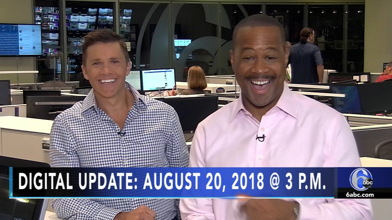 Rick Williams reports, and meteorologist Adam Joseph has the latest from AccuWeather, during the Action News Update at 3 p.m. on August 20, 2018.