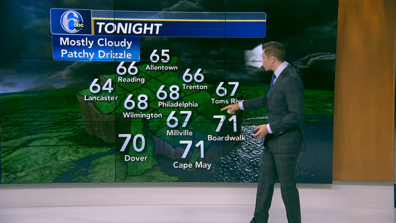 Adam Joseph with AccuWeather during Action News at 4pm on August 20, 2018.