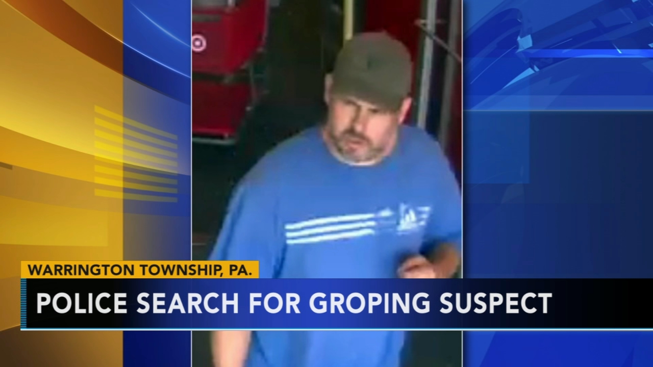 Police search for Warrington Target groping suspect: As seen on Action News at 4:30 p.m., August 20, 2018