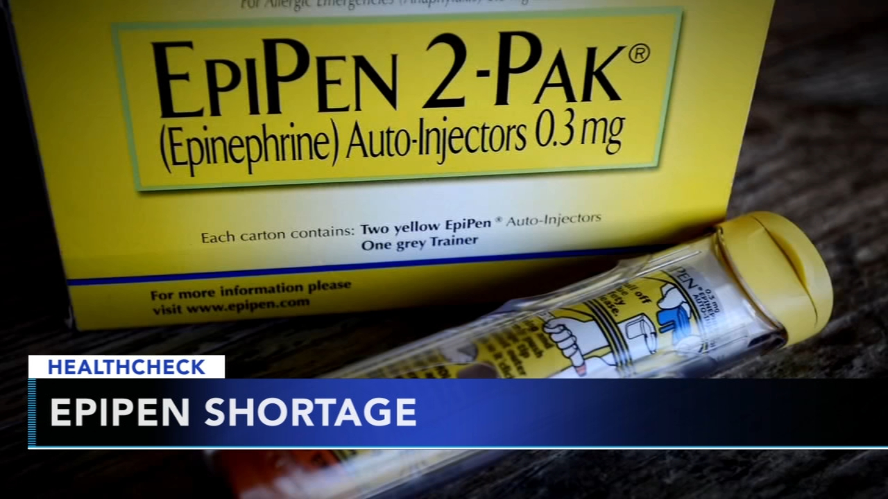 EpiPen shortage continues as students head back to school - Ali Gorman reports during Action News at 5pm on August 20, 2018.