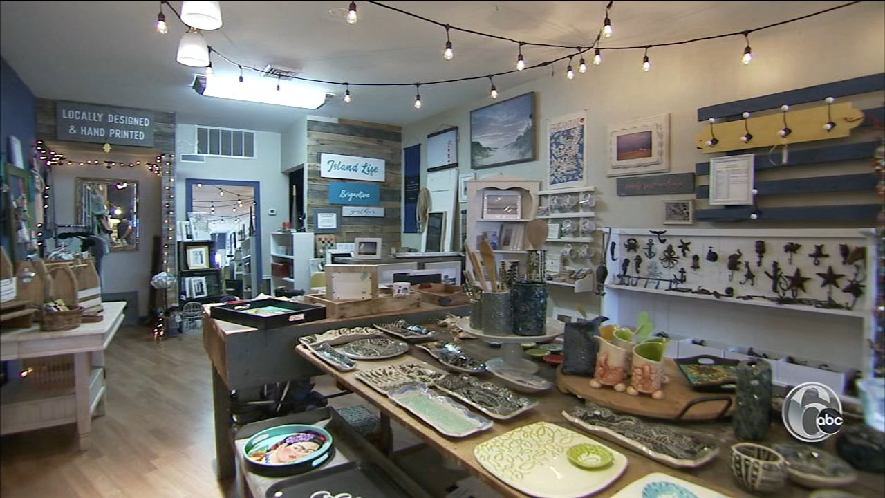If you want to do a little shopping, head to the Salty Sea Shop in Brigantine