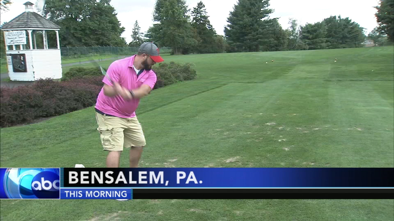 Bensalem golf outing benefits Make a Wish foundation: as seen on Action News at 5 p.m., August 20, 2018