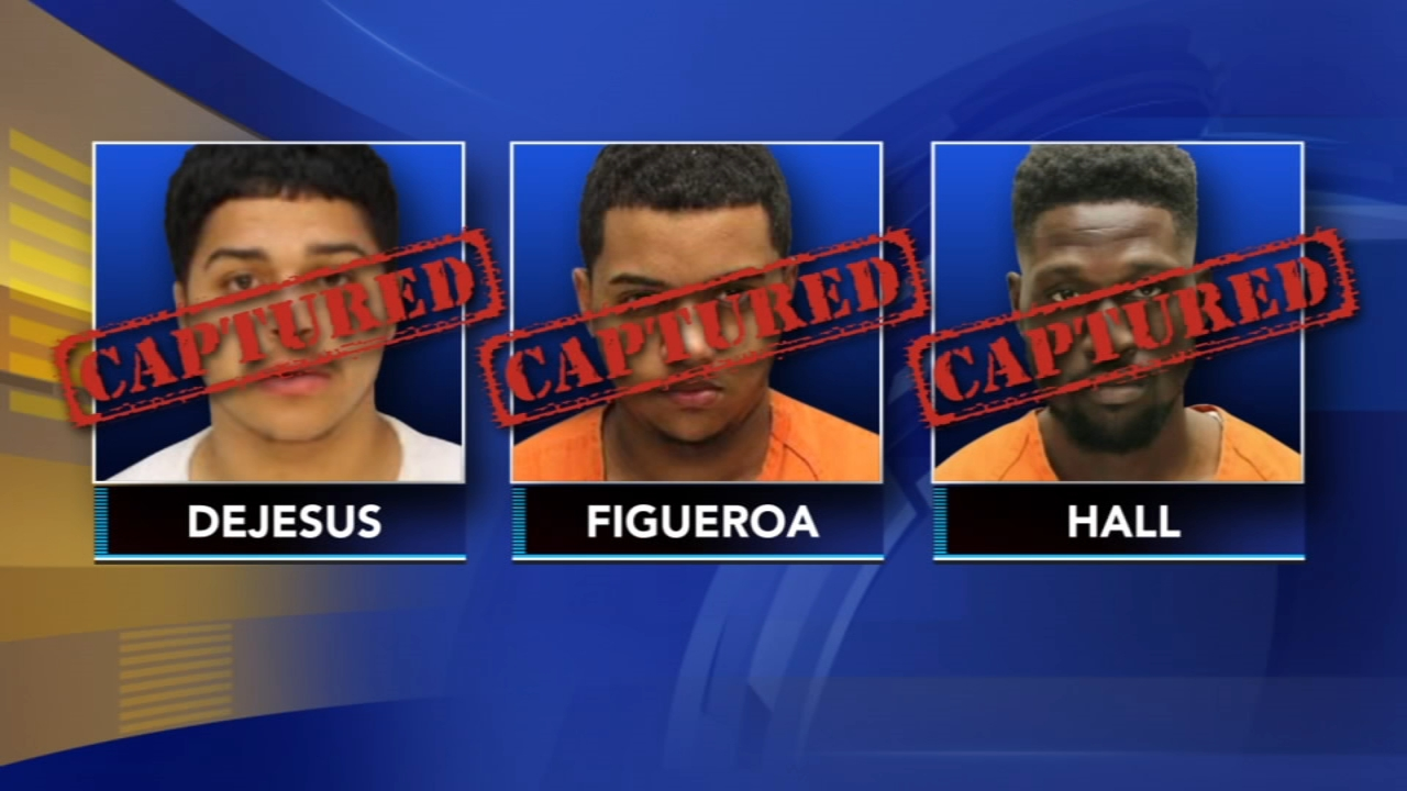 Police have arrested two more suspects wanted in connection to the shooting of two undercover detectives in Camden as reported during Action News at 10 on August 21, 2018..