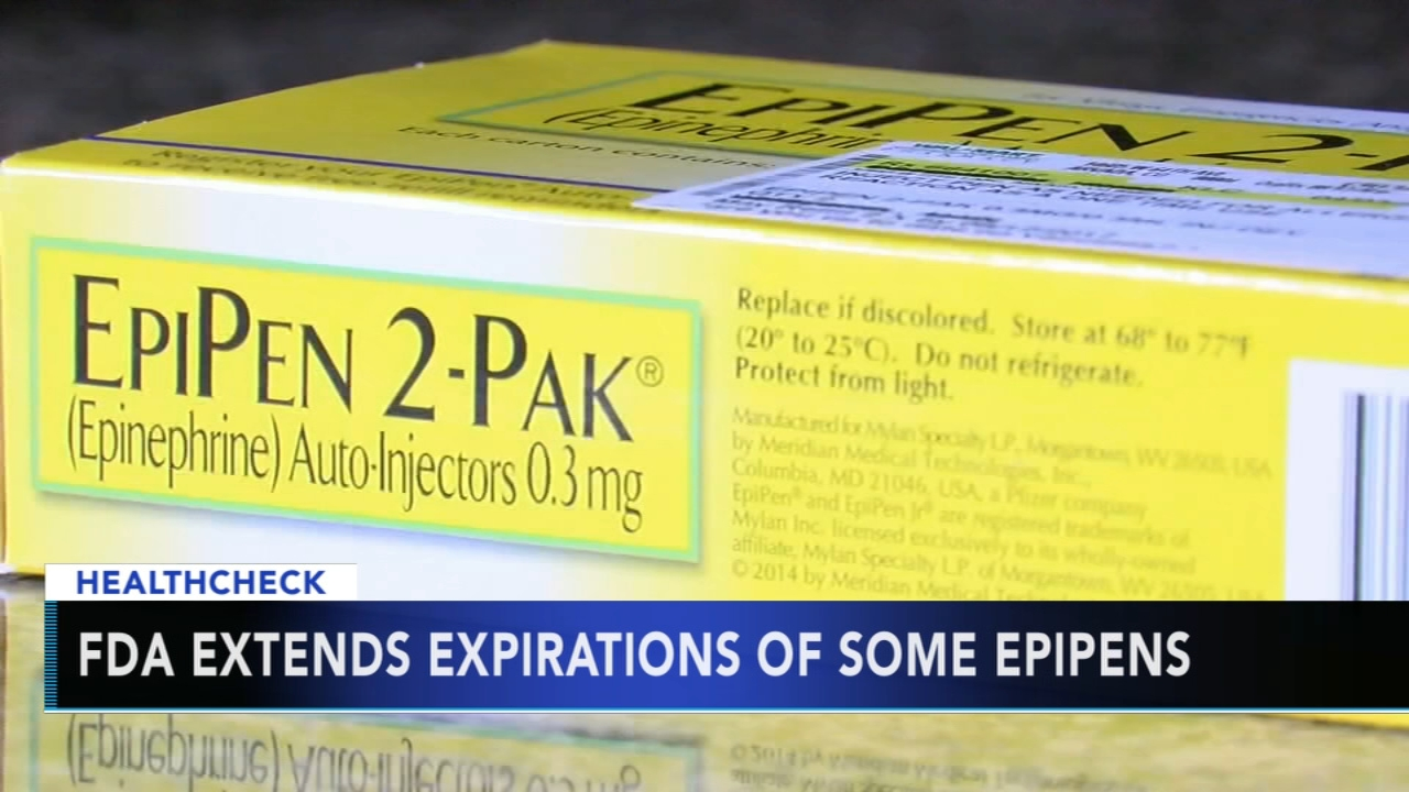 FDA extends some expiration dates as EpiPen shortage continues: Ali Gorman reports during Action News at 5pm on August 21, 2018.