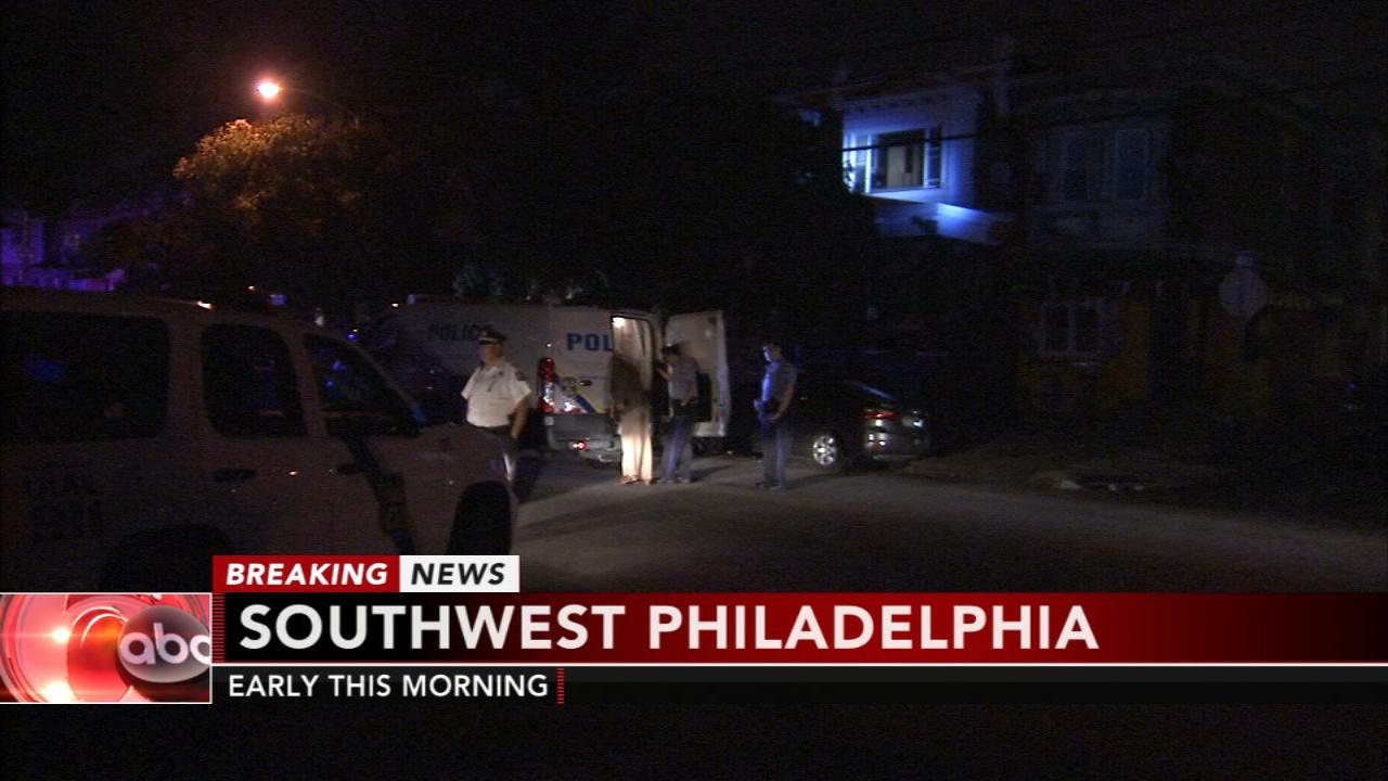 Armed man threatens officer in Southwest Philadelphia. Matt ODonnell reports during Action News Mornings on August 21, 2018.