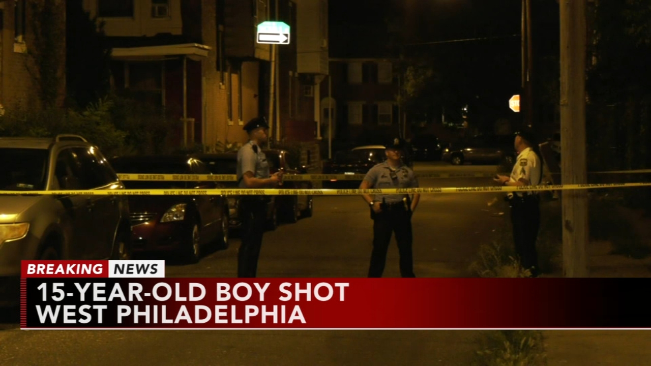 15-year-old boy shot in West Philadelphia. Katherine Scott reports during Action News Mornings on August 21, 2018.
