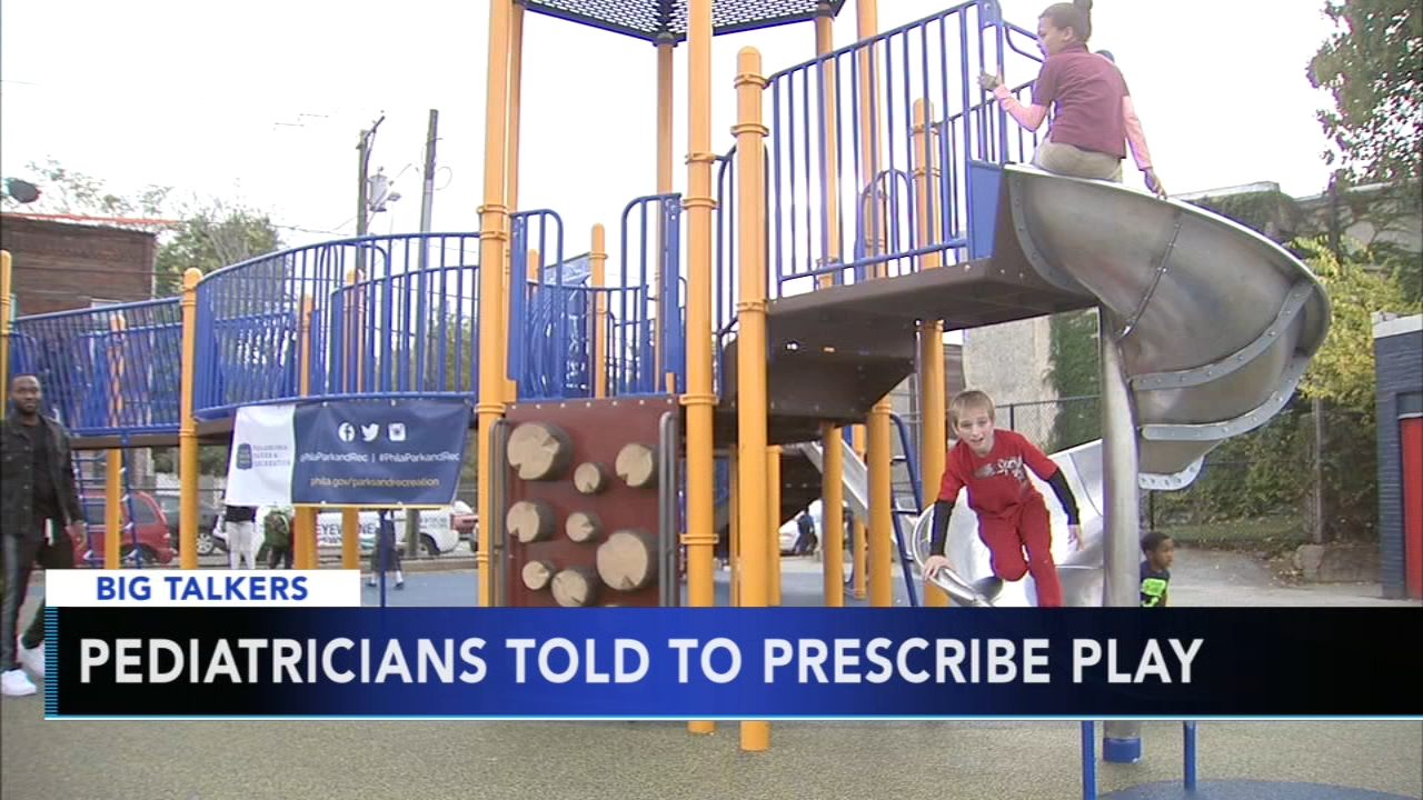 Pediatricians told to prescribe unstructured playtime. Watch the report from Action News at 4:30 p.m. on August 22, 2018.