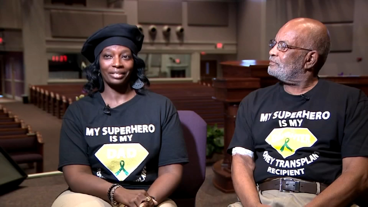 Woman loses weight to donate kidney to dad. Brian Taff reports during Action News at 4:30 p.m. on August 22, 2018.