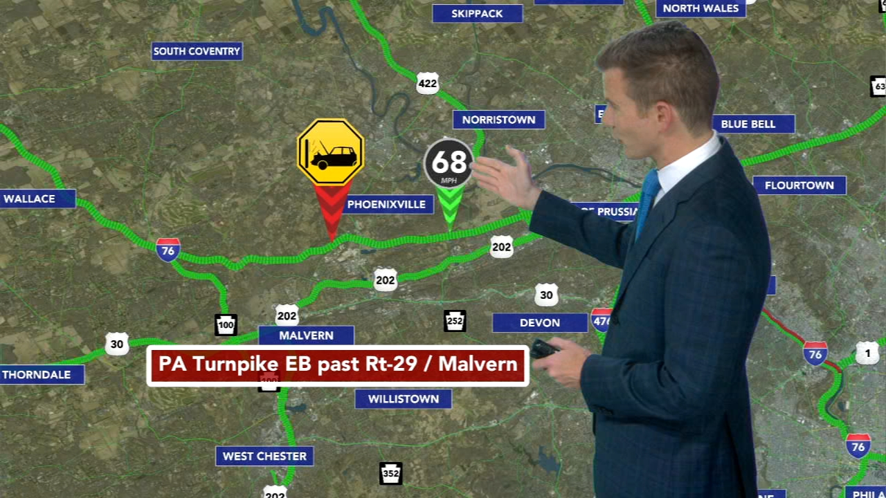 Chain reaction crash on Pa. Turnpike. Matt Pellman reports during Action News Mornings on August 22, 2018.