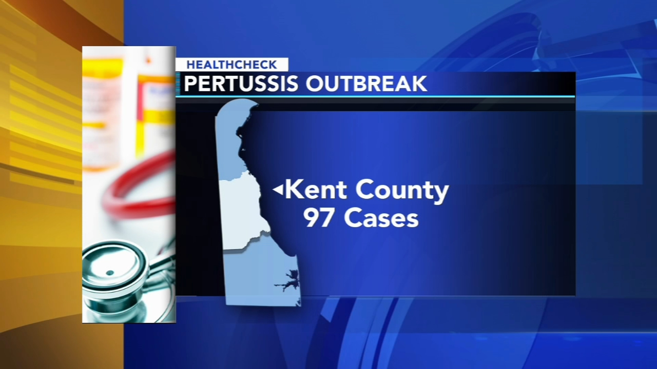 Officials report whooping cough outbreak in central Delaware - Ali Gorman reports during Action News at 5pm on August 23, 2018.