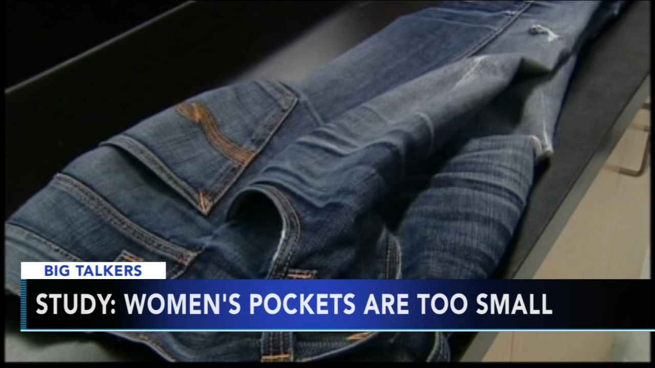 Study: Womens pants pockets are too small - Sharrie Williams reports during Action News at 4:30pm on August 23, 2018.
