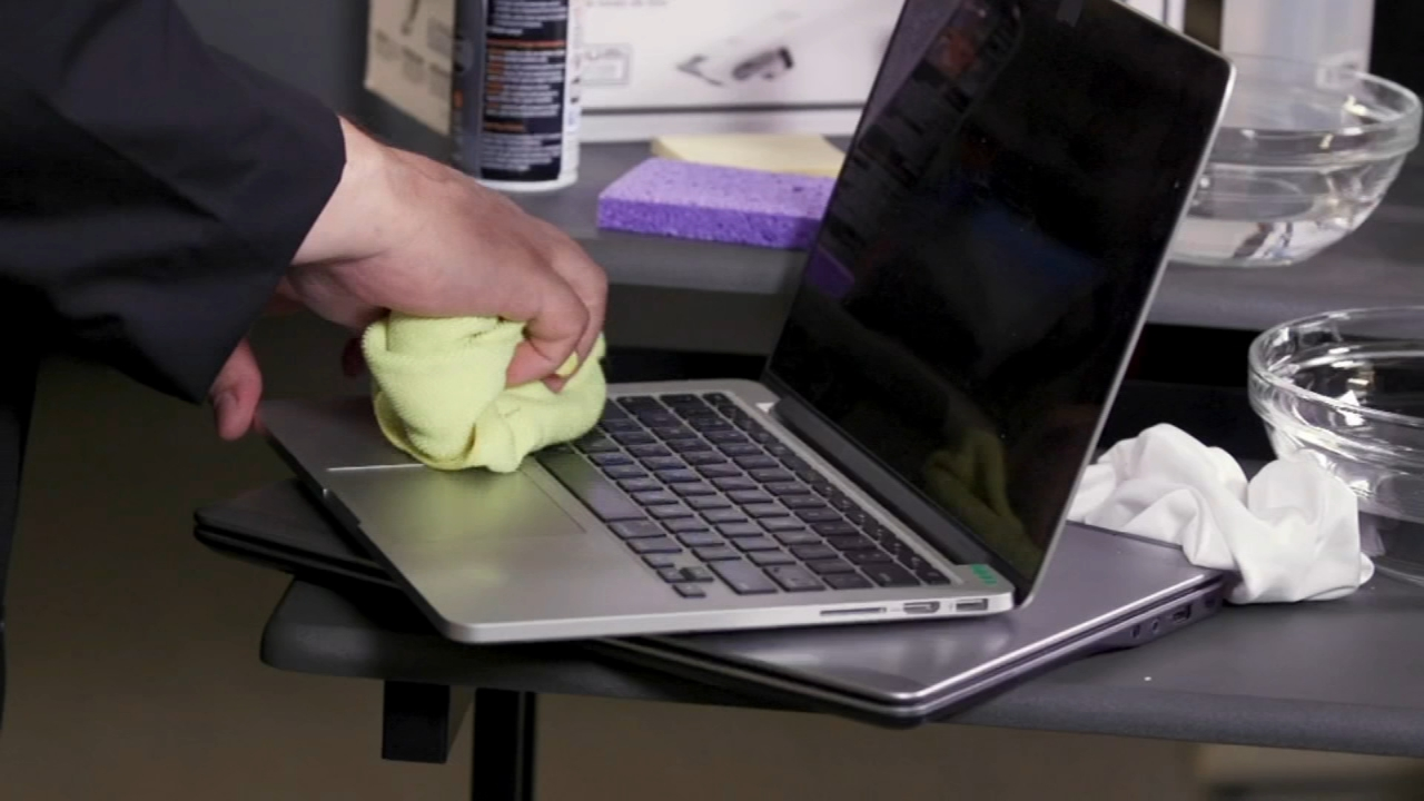 Consumer Reports: Your laptop is dirtier than you think - Sharrie Williams reports during Action News at 4:30pm on August 23, 2018.