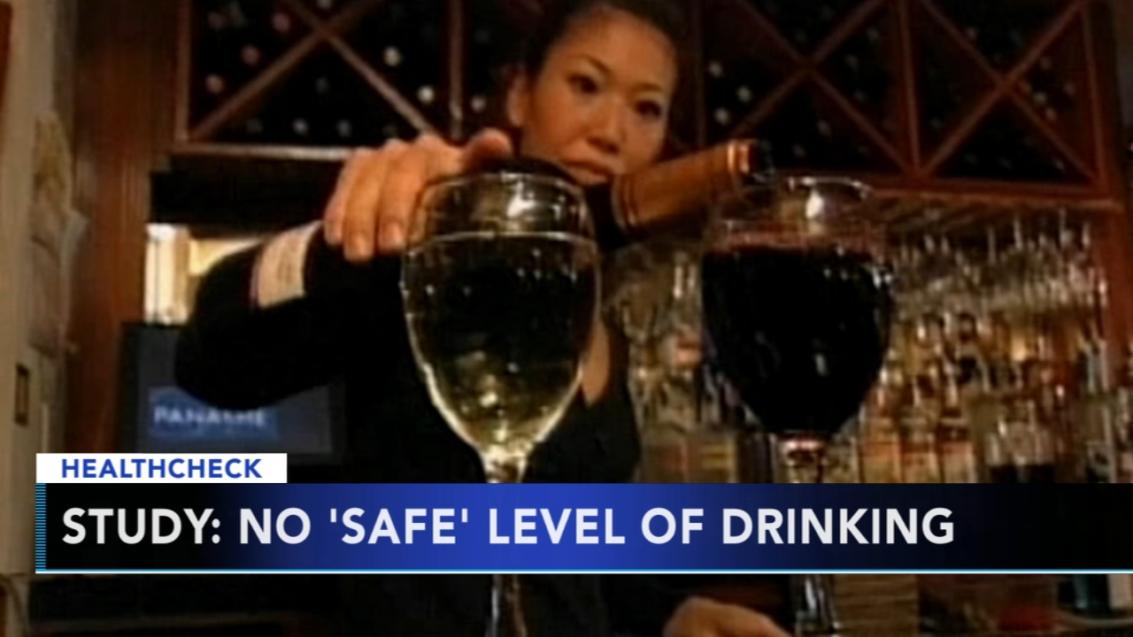 Study: No safe level of drinking - Rick Williams reports during Action News at 5pm on August 24, 2018.