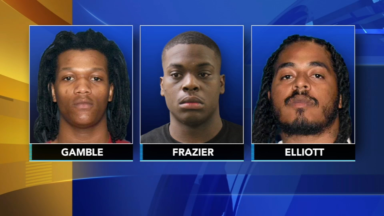 3 suspects charged in death of girl, 9, hit by stray bullet in Bridgeton. Jim Gardner reports during Action News at 11 p.m. on August 24, 2018.