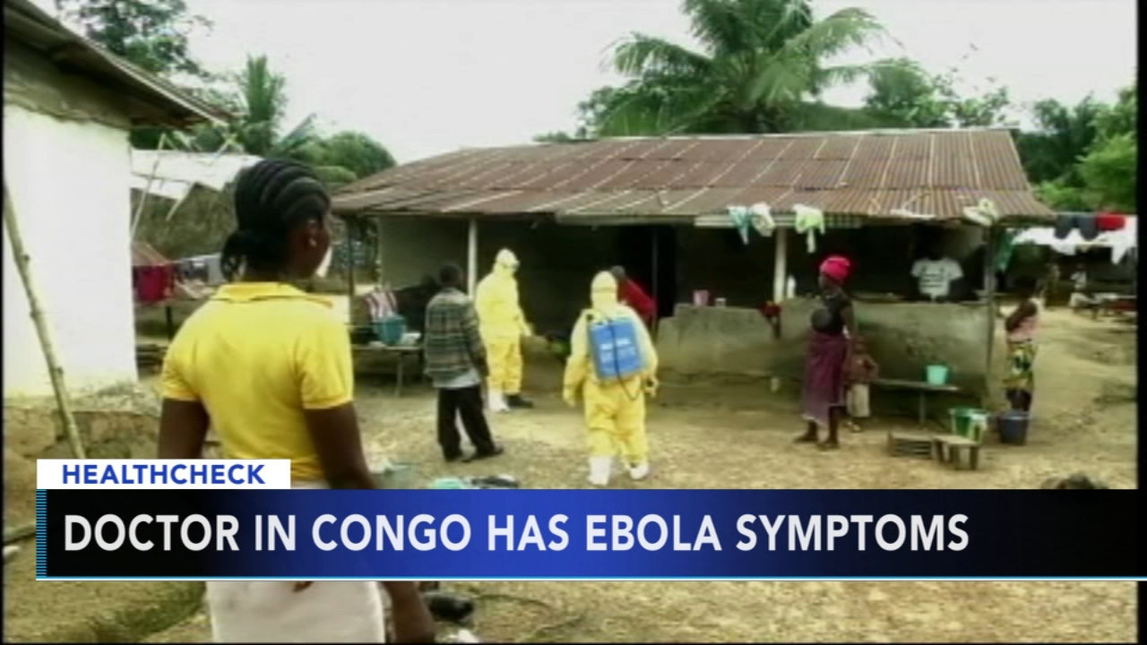 Doctor in Congo has Ebola symptoms - Rick Williams reports during Action News at 5pm on August 24, 2018.