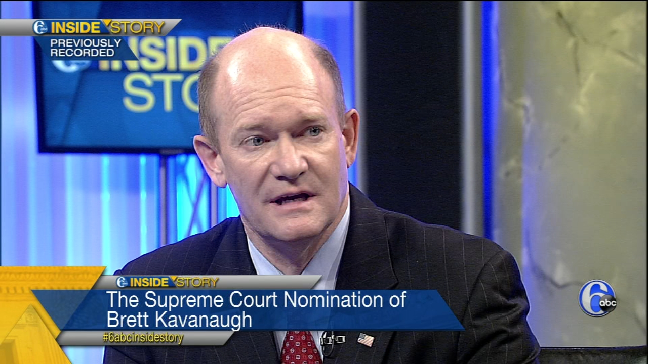 Democratic Republican Senator Chris Coons joins Matt ODonnell to discuss the Brett Kavanaugh confirmation, protecting the Mueller investigation and more national and local politic