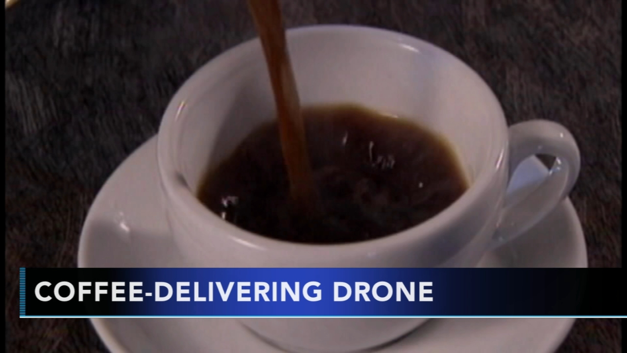 IBM files patent for coffee-delivery drone. Gray Hall reports during Action News at 7 a.m. on August 26, 2018.