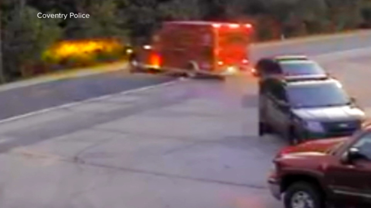 3 injured after boy with autism steals ambulance in Rhode Island. Christie Ileto reports during Action News at 10 a.m. on August 26, 2018.
