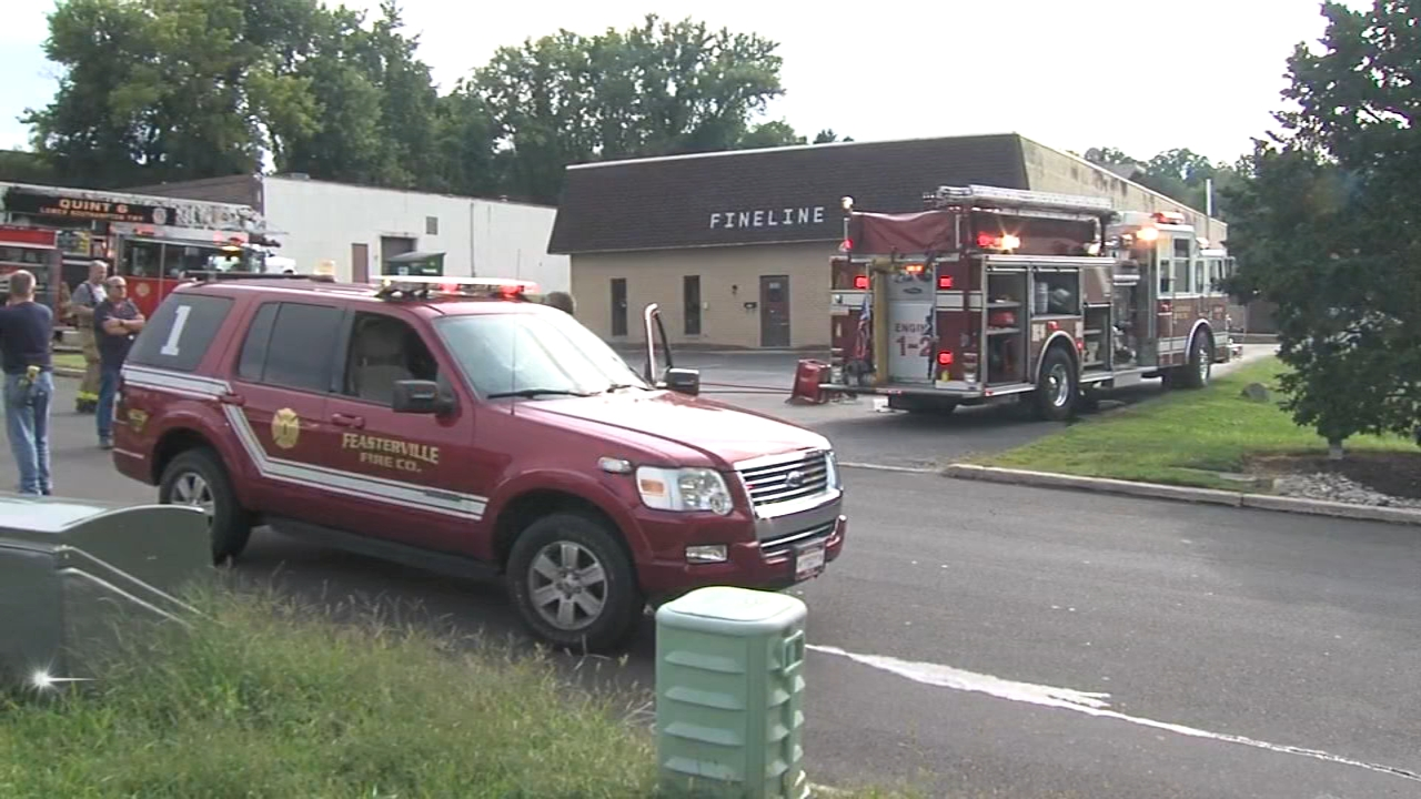 HAZMAT response at Feasterville business: as seen on Action News at 11 p.m., August 26, 2018