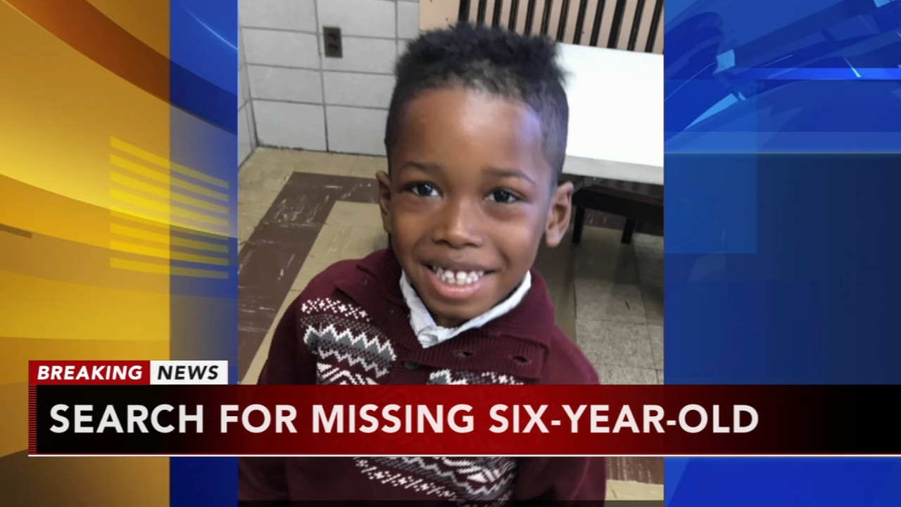 Police search for missing endangered 6-year-old. Christie Ileto reports during Action News at 10 a.m. on August 26, 2018.