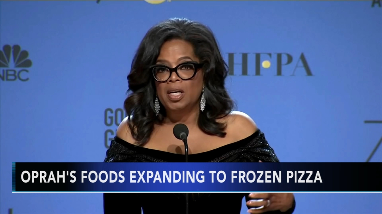 Oprah launching line of healthy frozen pizzas. Christie Ileto reports during Action News at 9 a.m. on August 26, 2018.