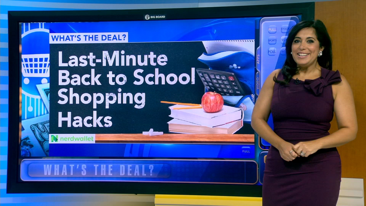 Whats the Deal: Last-minute back to school shopping hacks - Alicia Vitarelli reports during Action News at 4:30pm on August 27, 2018.