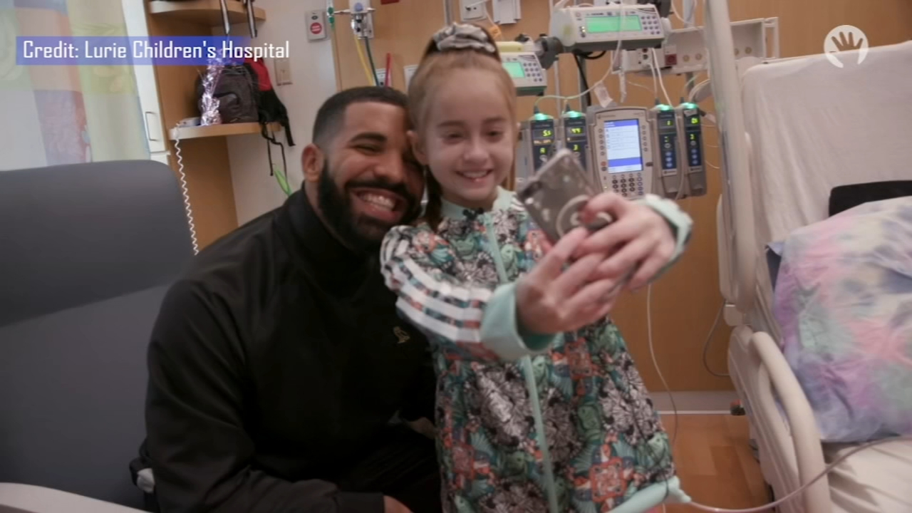 Girl, 11, visited by rapper Drake at Lurie hospital gets heart transplant. Jeannette Reyes reports during Action News at 5 a.m. on August 28, 2018.