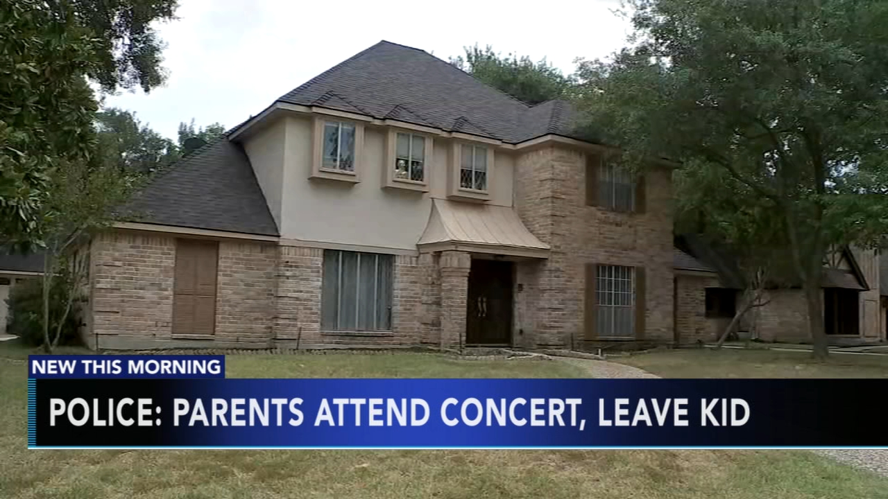 Texas parents charged for leaving child home alone overnight to attend rock concert. Matt ODonnell reports during Action News at 4:30 a.m. on August 28, 2018.