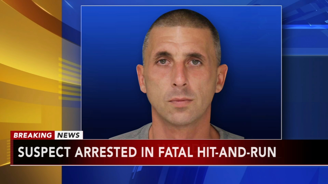 Suspect arrested in fatal Levittown hit and run: as seen on Action News at 5 p.m., August 28, 2018