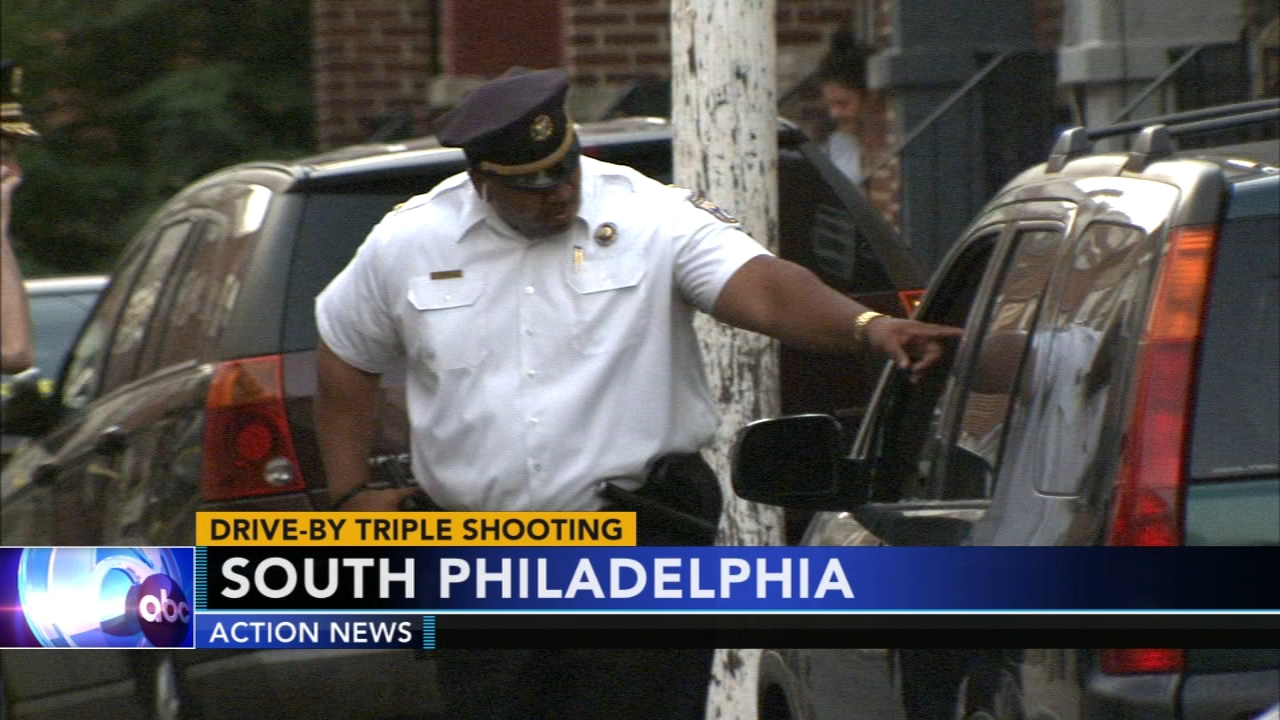 3 injured in South Philadelphia drive-by shooting, including teen. Watch this report from Action News Mornings on August 29, 2018.