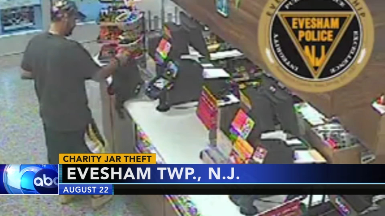 Charity jar stolen from Wawa store in New Jersey. Watch this report from Action News Mornings on August 29, 2018.