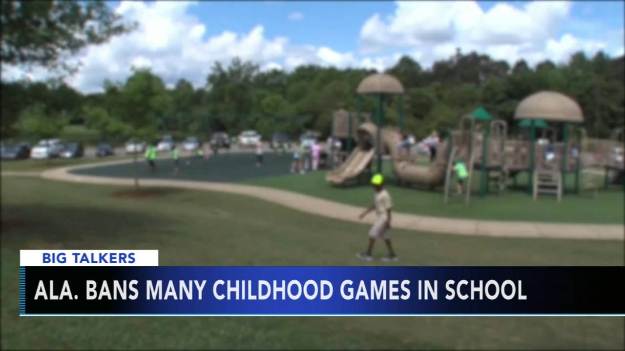 Alabama Dept. of Education deems 8 gym class games as inappropriate - Brian Taff reports during Action News at 4:30pm on August 30, 2018.
