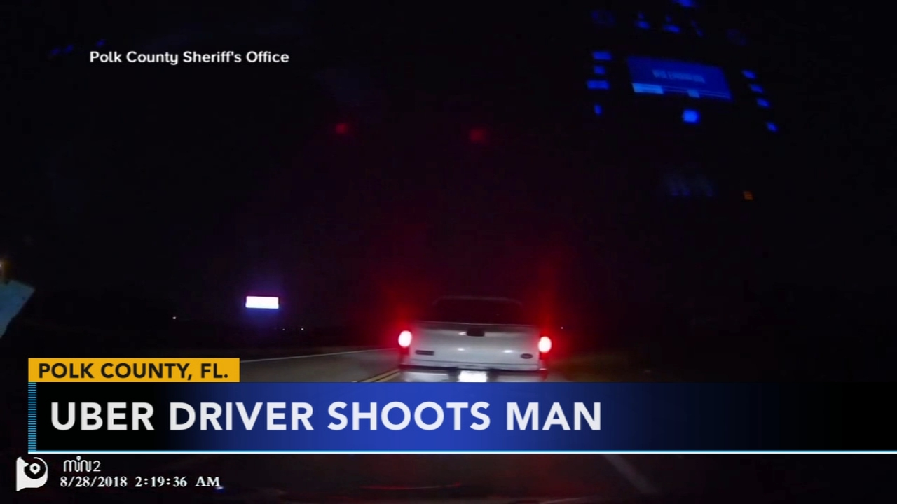 Florida Uber driver claims self-defense in fatal shooting. Rick Williams reports during Action News at 12 p.m. on August 30, 2018.