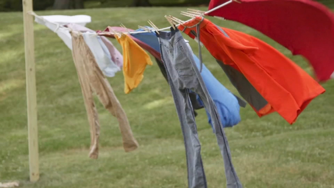 Consumer Reports: Why you should line dry your laundry - Sharrie Williams reports during Action News at 4:30pm on August 30, 2018.