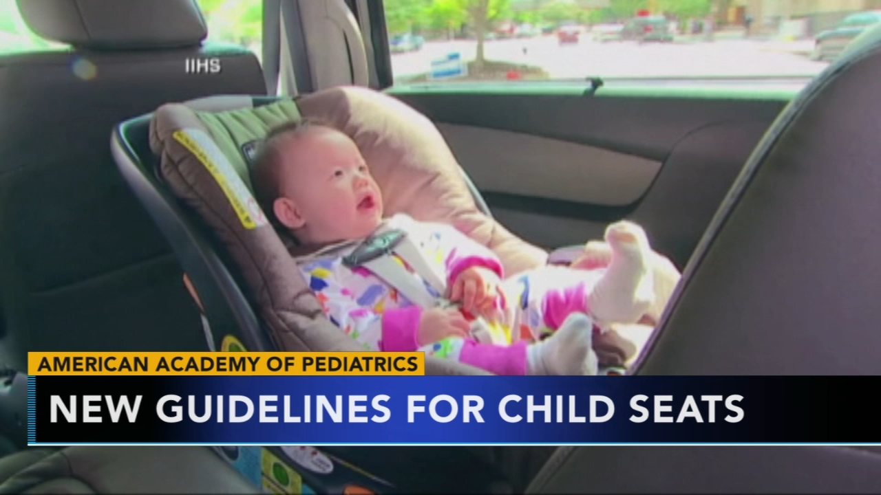 New guidelines for child car seats drops age-specific milestone. Nydia Han reports during Action News at 5 a.m. on August 31, 2018.