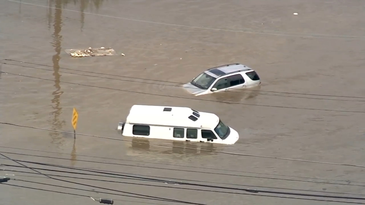 Delaware County flood victims urged to report damage. John Rawlins reports during Action News at 4pm on August 31, 2018.