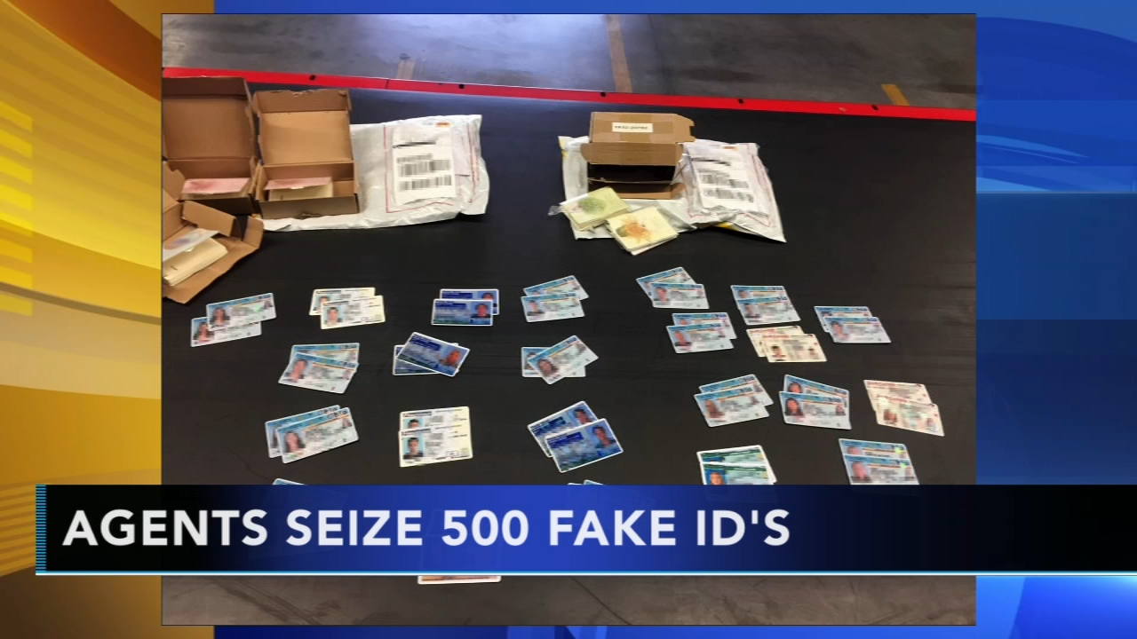 Nearly 500 fake IDs seized at Philadelphia International Airport. Gray Hall reports during Action News at 4:30 a.m. on August 31, 2018.