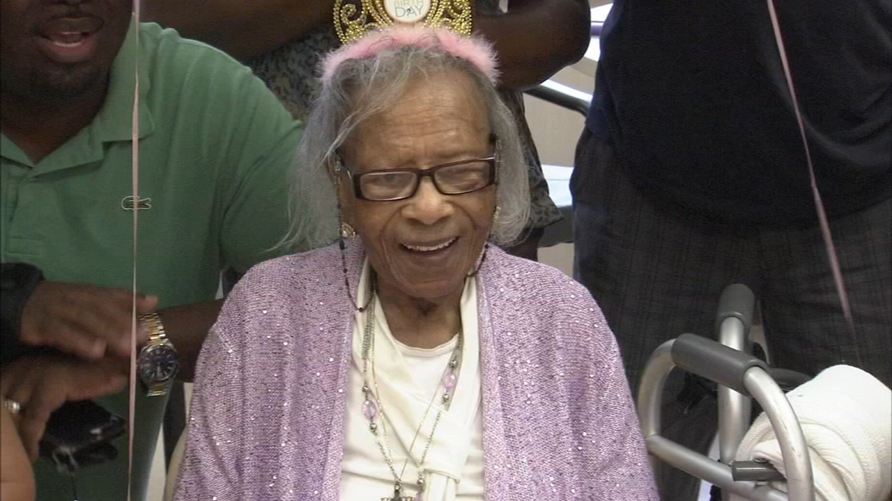 Bertha Lee Bell turned 102 surrounded by friends and family as reported during Action News at 4 on August 31, 2018.