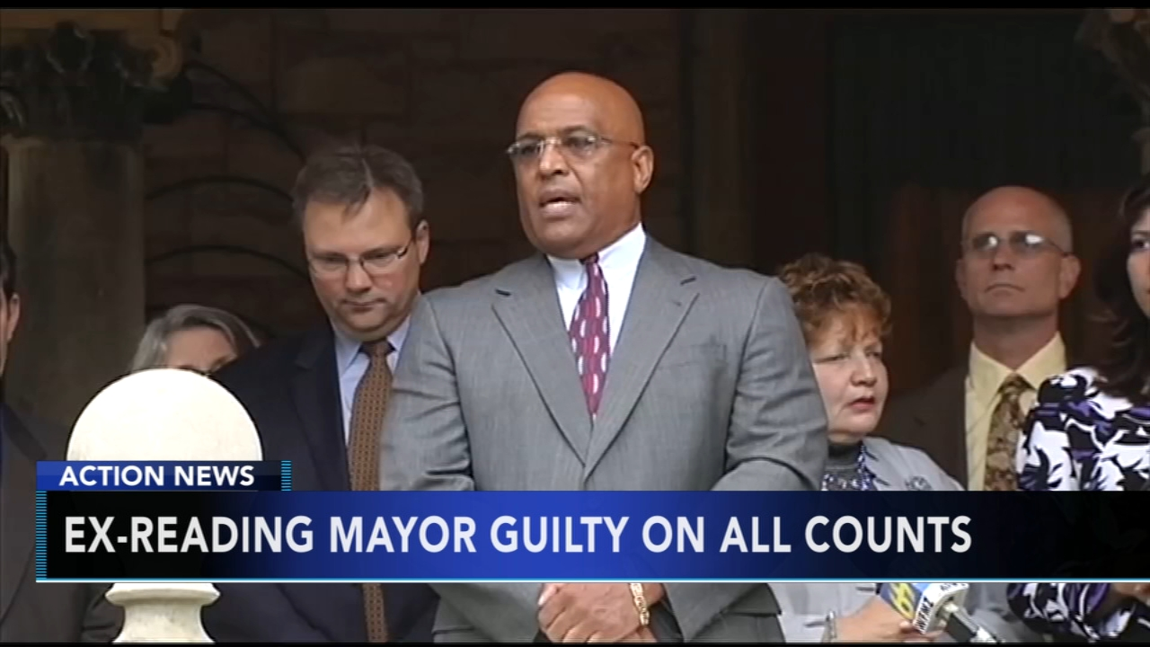 Former Reading mayor found guilty in federal corruption trial. Nydia Han reports during Action News at 4:30 a.m. on August 31, 2018.