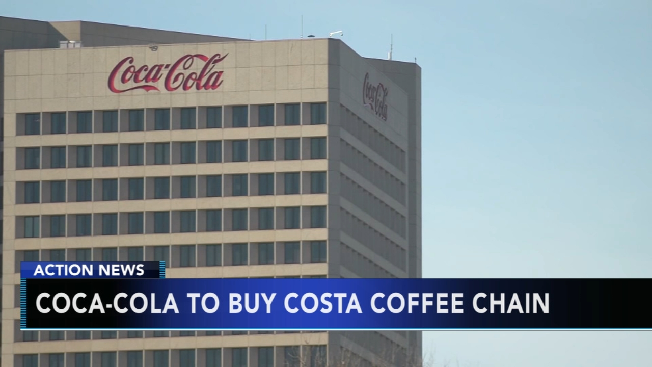 Coca-Cola looks to purchase Costa coffee chain. Gray Hall reports during Action News at 7 a.m. on September 1, 2018.