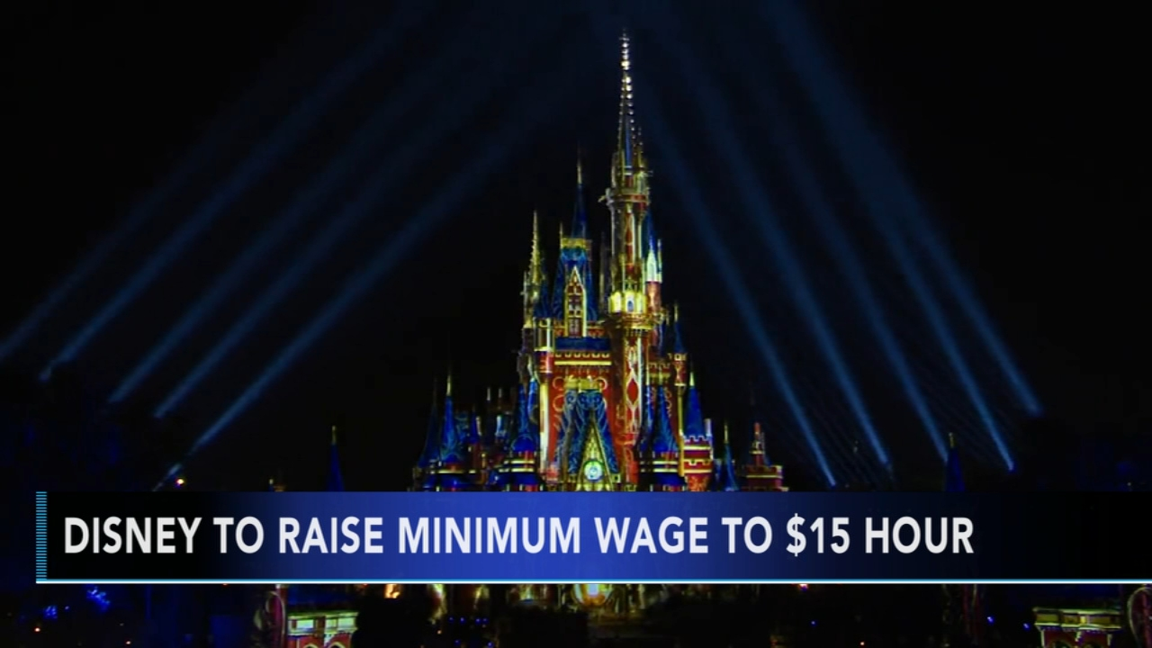 Disney to raise minimum wage for park and resort employees. Gray Hall reports during Action News at 6 a.m. on September 1, 2018.