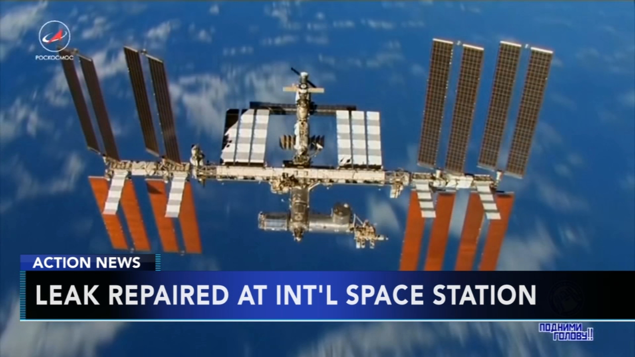 International Space Station air pressure restored after leak. Gray Hall reports during Action News at 6 a.m. on September 1, 2018.