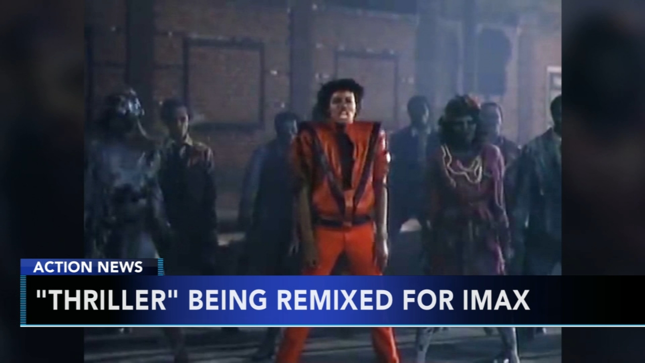 Michael Jacksons Thriller coming to IMAX theatres. Gray Hall reports during Action News at 6 a.m. on September 1, 2018.