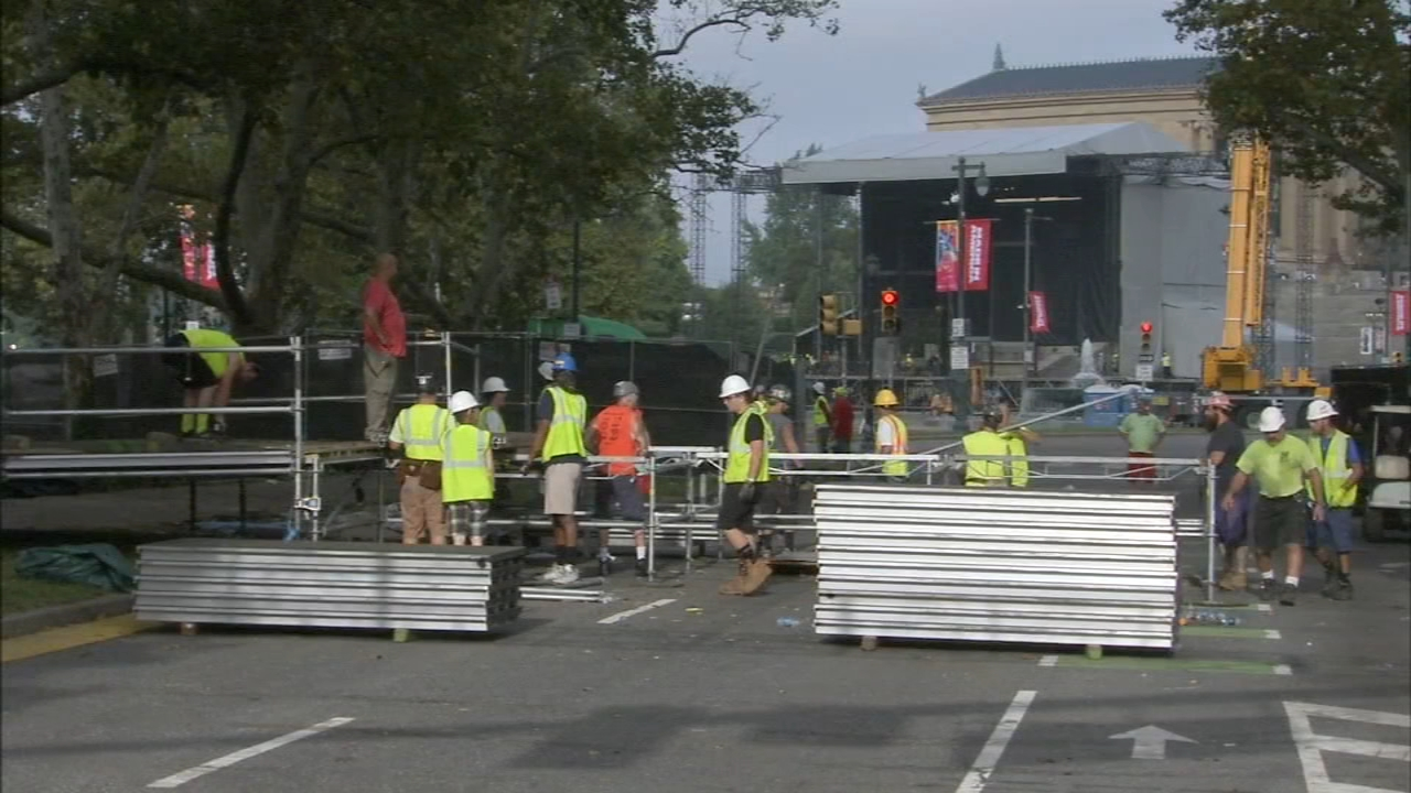 Cleaning up after Made in America. Jeannette Reyes reports during Action News at Noon on September 3, 2018.
