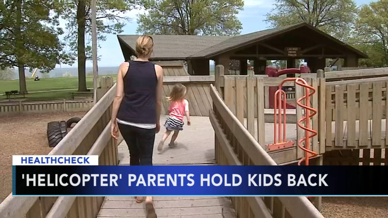 Study Helicopter parents may do harm by hovering over kids. Watch this report from Action News at 4:30 p.m. on September 3, 2018.