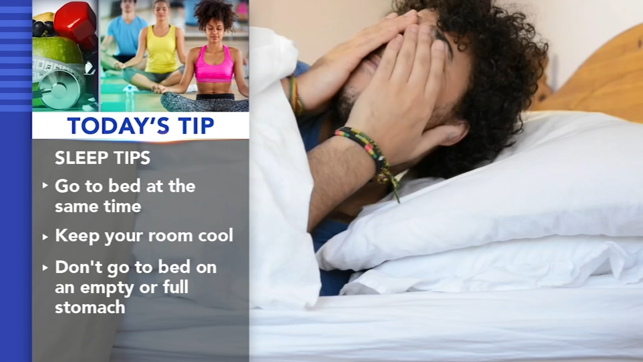 Todays Tip: Getting a better nights sleep. Ali Gorman reports during Action News Mornings on September 3, 2018.