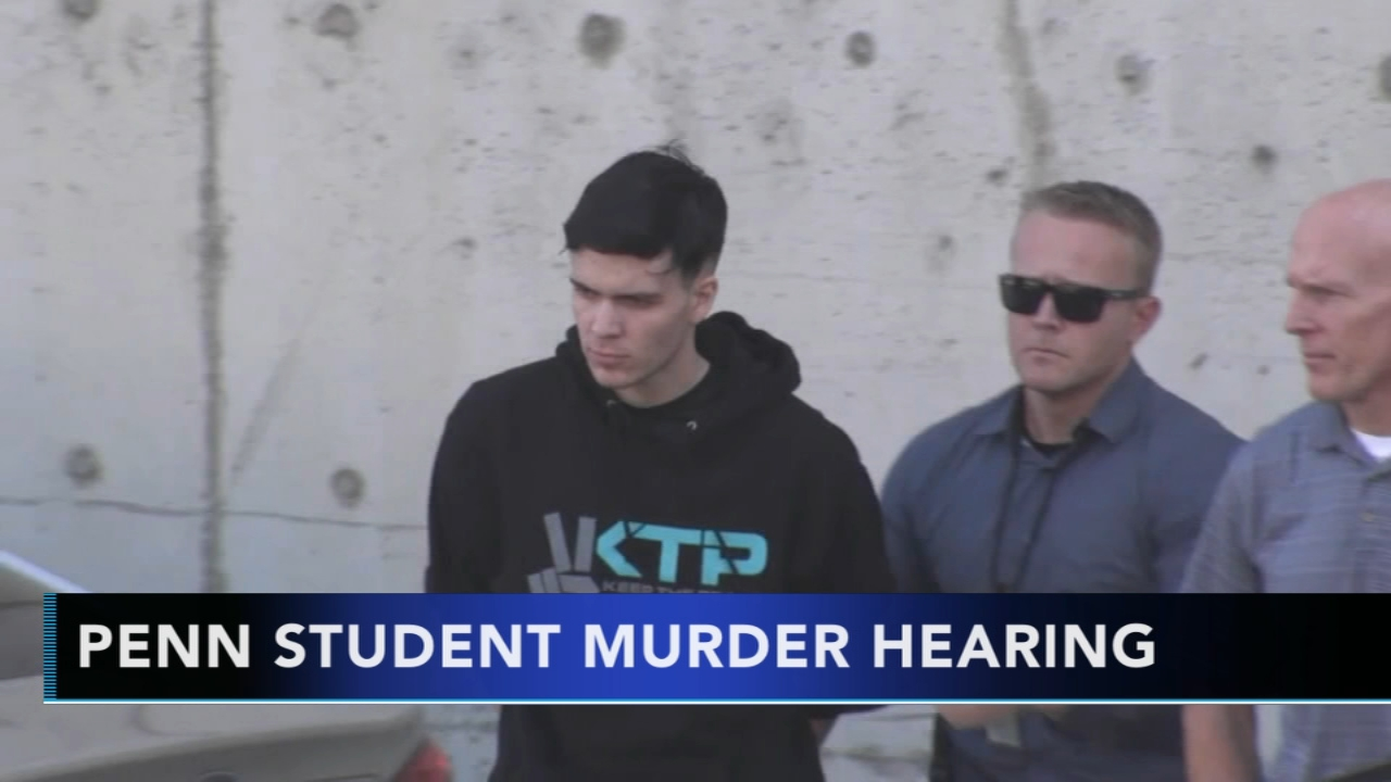 A man accused of killing former classmate and University of Pennsylvania student as reported during Action News at 10 on September 4, 2018.